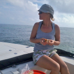 Allison Culbertson lunch at Looe Key