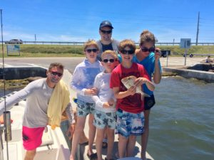 Keys boat tours Family fishing