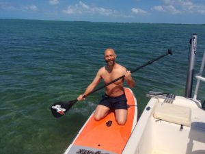Paddle board Keys Boat Tours