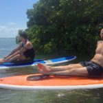 relaxing SUP tour
