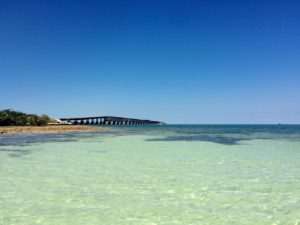 Shallows and Old Bahia Honda Bridge