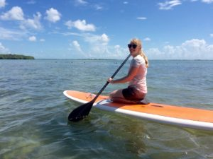 Paddleboard fun with Keys Boat Tours