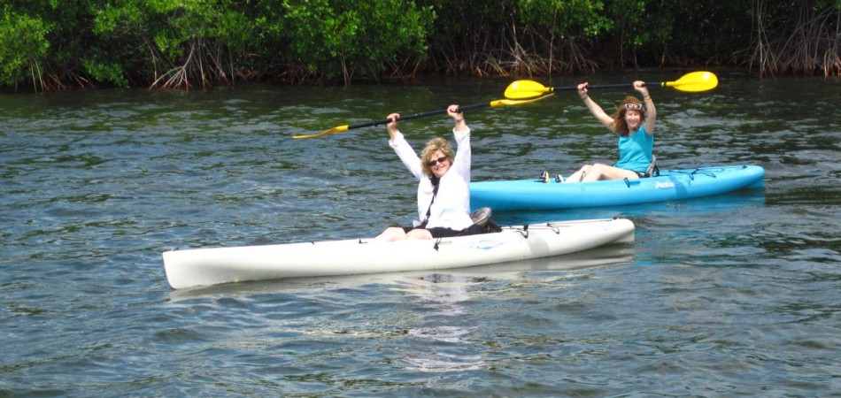 kayak mother and daughter keys getaway