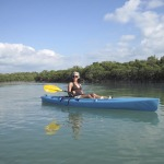 Allison Culbertson Kayaking the keys