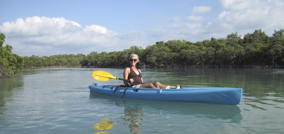 Allison Culbertson Kayaking the keys