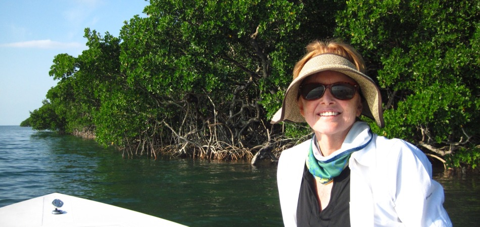 Barbara eco tour on the water Keys Boat Tours