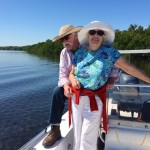 enjoying an eco tour on the water keys getaway