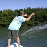 fishing for bait