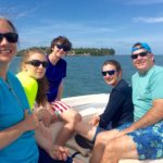 Family portrait Keys Boat Tours