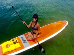 Keys Boat Tours paddle board rental