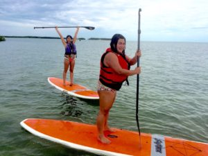 Keys Boat Tours Paddle board